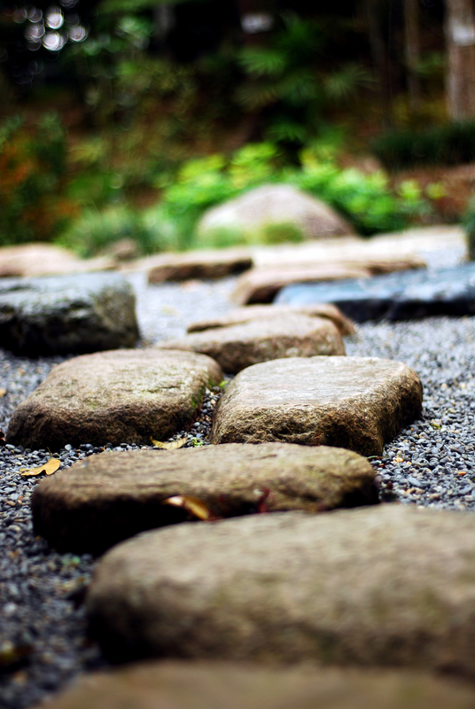 Stepping Stones path